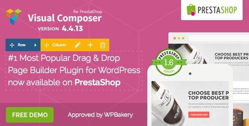 CodeCanyon - Visual Composer v4.4.12 - Page Builder for Prestashop - 11336599
