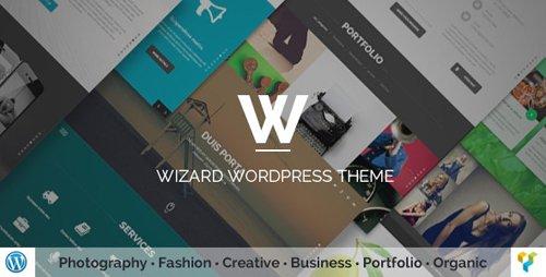ThemeForest - Wizard v3.0 - Fullpage Portfolio WordPress Theme - 11996937
