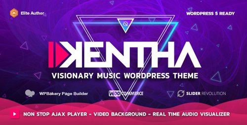 ThemeForest - Kentha v1.7.2 - Non-Stop Music WordPress Theme with Ajax - 21148850 - NULLED