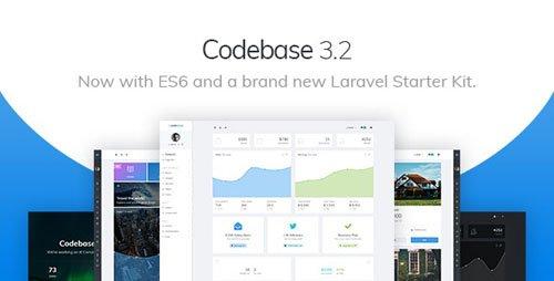 ThemeForest - Codebase v3.2 - Bootstrap 4 Admin Dashboard Template & Laravel 6 Starter Kit - 20289243