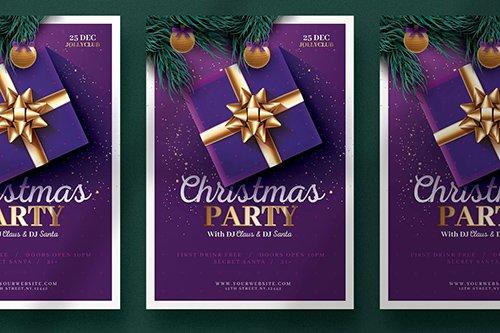 Beautiful Christmas Flyer Template