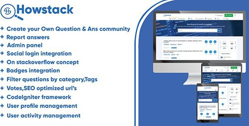 CodeCanyon - HowStack v1.0 - Questions And Answers Plateform - 22515677