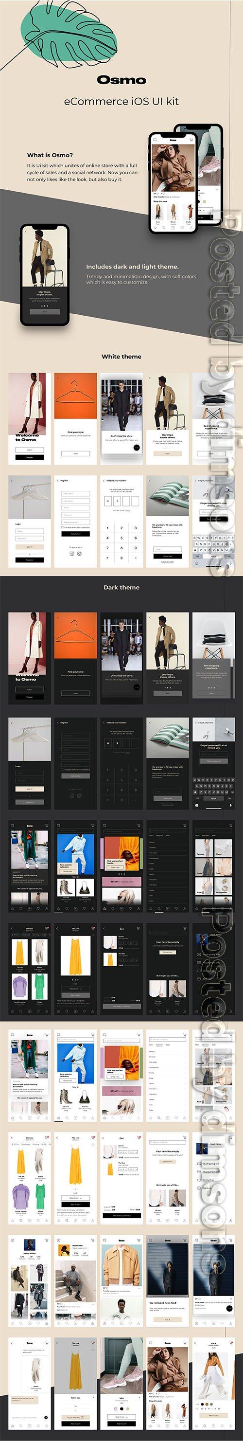 Osmo e-Commerce Ui kit - UI8