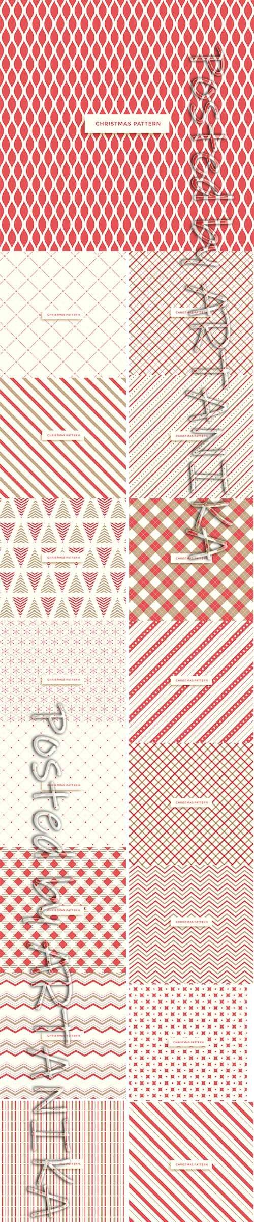 Christmas Pattern Winter Backgrounds