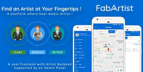 CodeCanyon - Hire for Work - Fab Artist Android (Update: 1 August 19) - 22283009