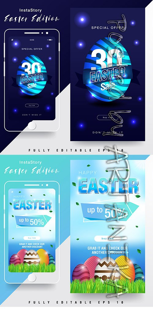 Easter Sale Instagram Story Templates