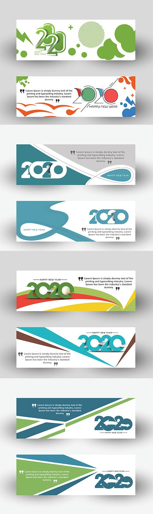 New Year Holiday design elements for holiday cards