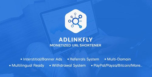 CodeCanyon - AdLinkFly v6.4.0 - Monetized URL Shortener - 16887109 - NULLED