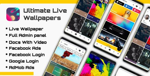 CodeCanyon - Ultimate Live Wallpapers Application (GIF/Video/Image) v1.1 - 23861722