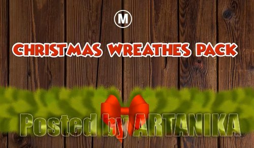 Chistmas Wreaths Pack + Logo Opener 329681