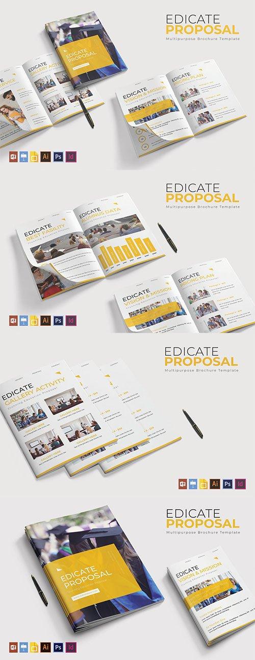 Edicate | Brochure Template