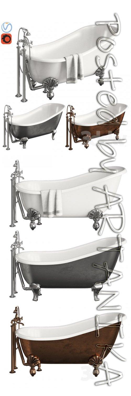 Devon & Devon Regina Bath 3D model