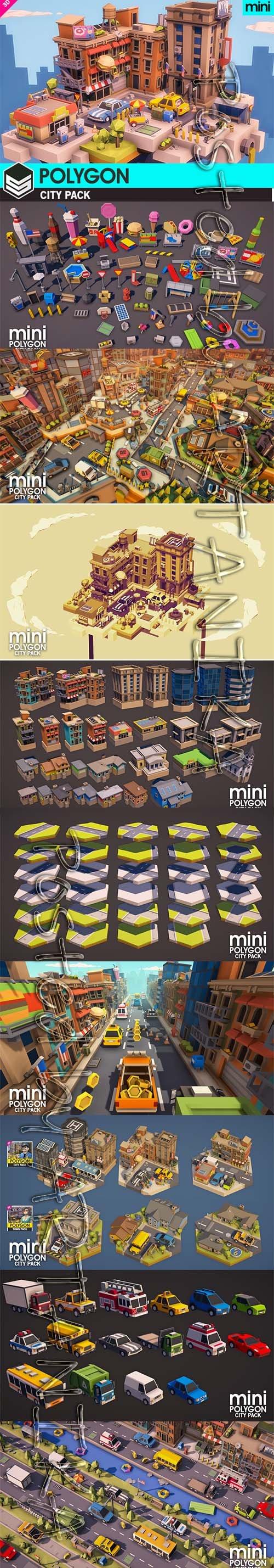 POLYGON MINI - City Pack v1.01