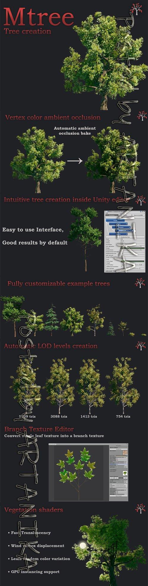 Mtree - Tree creation v2.1