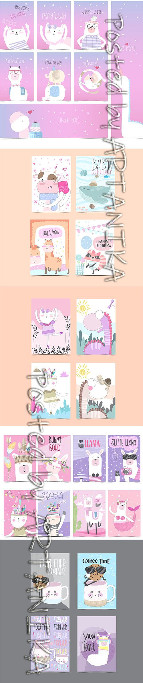 Collection of Baby Shower Template Card