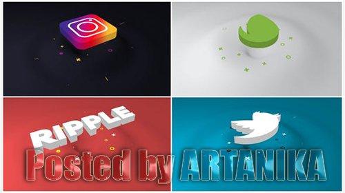 Minimal Ripple 3D Logo 21607099