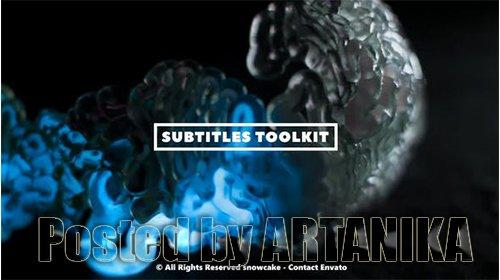 Subtitles Toolkit 25051957