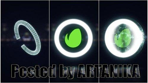 Midnight Glow Logo Reveal 10790423