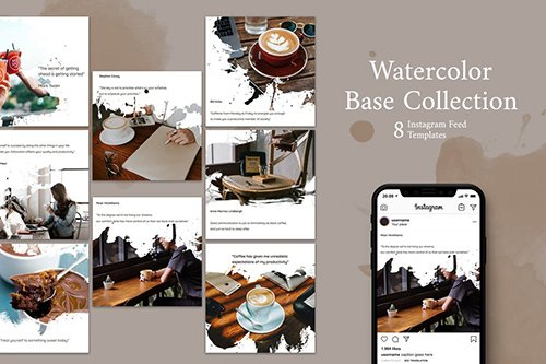 Coffee Shop - Instagram Post Template
