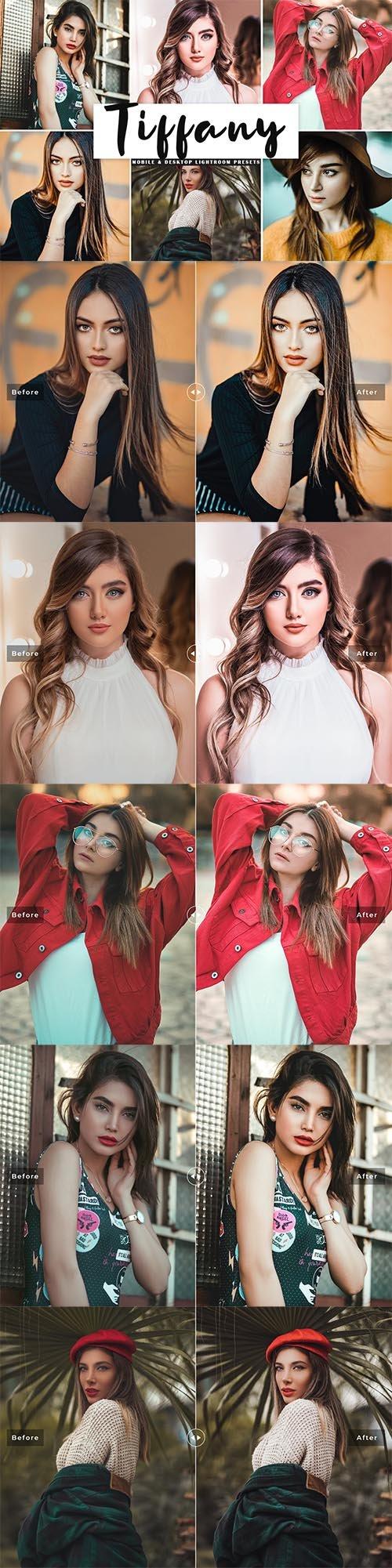 Tiffany Mobile & Desktop Lightroom Presets