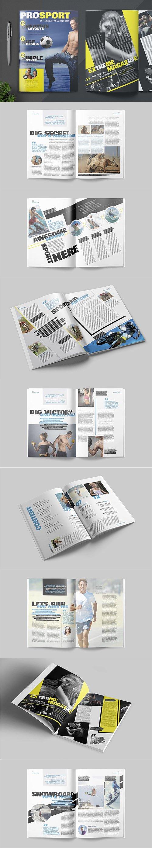 Magazine Template - Prosport
