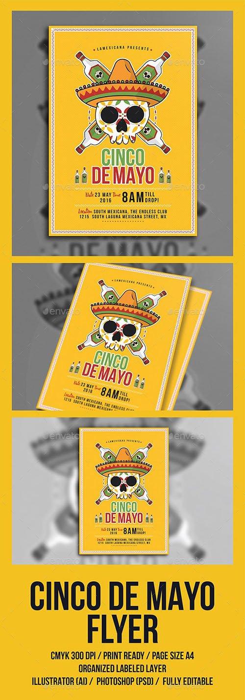 Cinco De Mayo Flyer 15890944