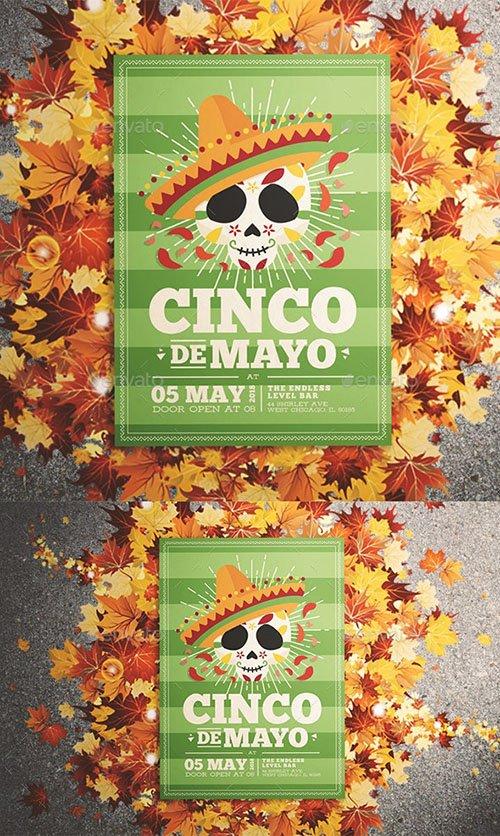 Cinco De Mayo Flyer 21701730