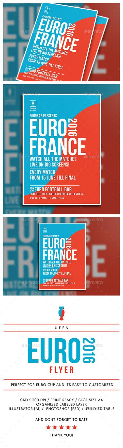 Clean Euro Cup Flyer 16508933