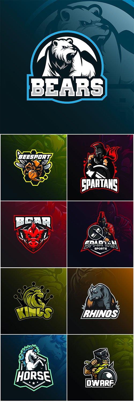 Mascot logo design vector with modern illustration