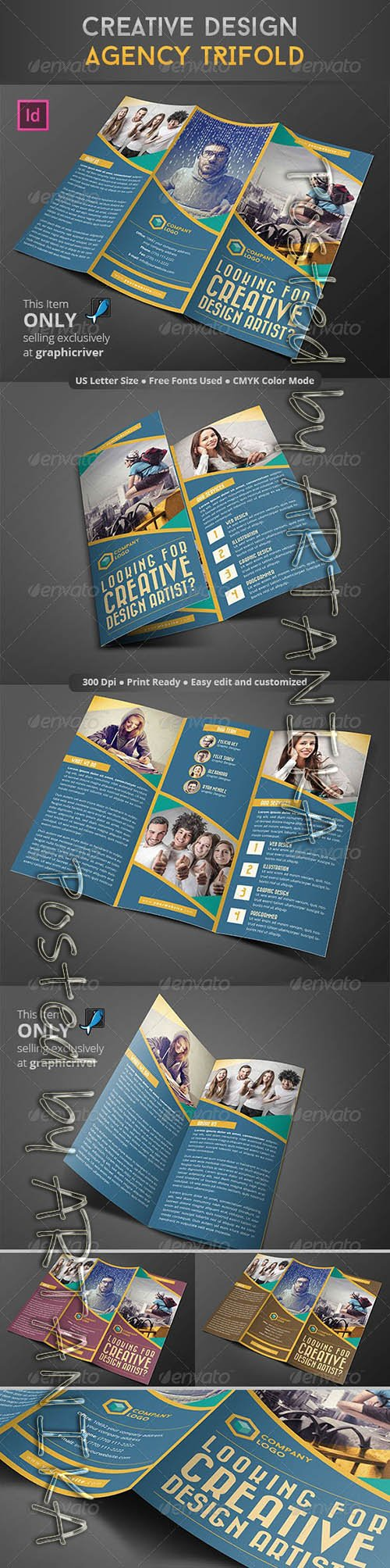 Creative Design Agency Trifold 8756822