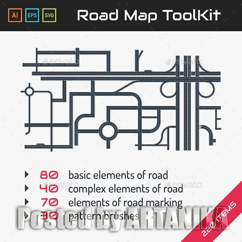 Road Map ToolKit 9460335