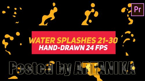 Liquid Elements Water Splashes 21-30 187429