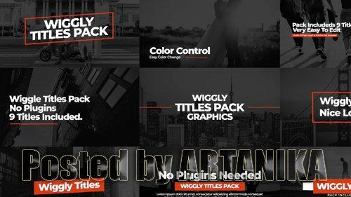 Wiggly Titles Pack V1 204631