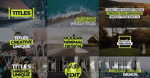 Wiggly Titles Pack V4 207797