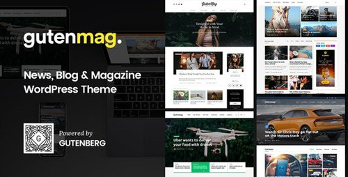 ThemeForest - GutenMag v1.1.6 - Newspaper, Magazine Theme - 22718994