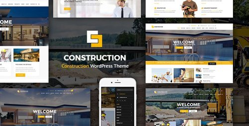 ThemeForest - Construction v1.2.7 - WordPress Theme - 14802222
