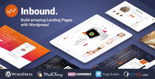 ThemeForest - Inbound v1.3.0 - WordPress Landing Page Theme - 19349378