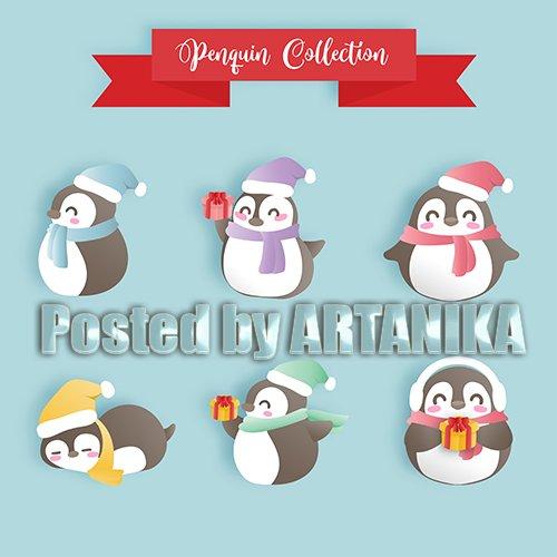 Penguin Christmas Set