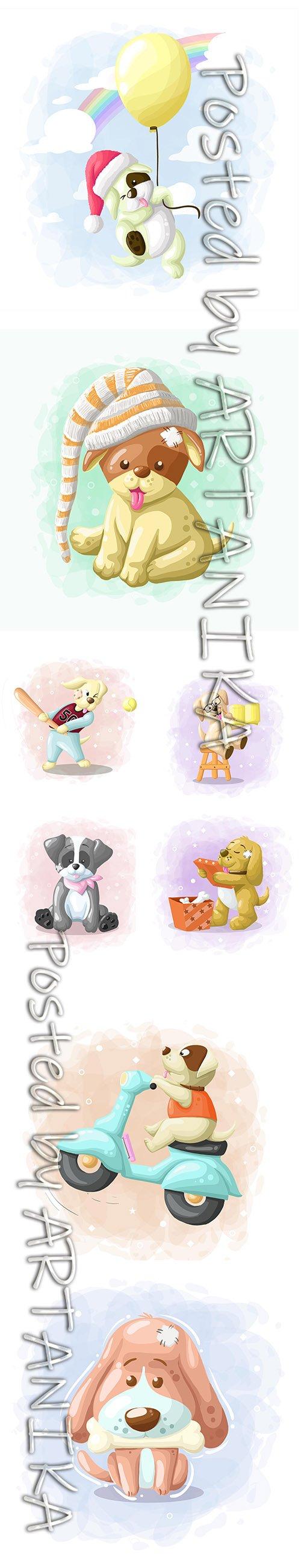 Cute Little Animals Cartoon Illustrations Vol 2