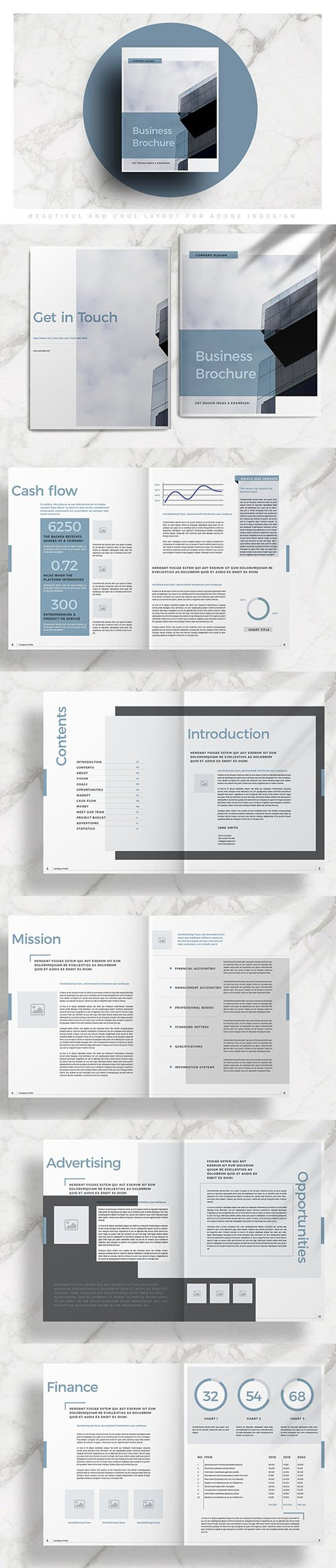 Business Brochure Layout INDD