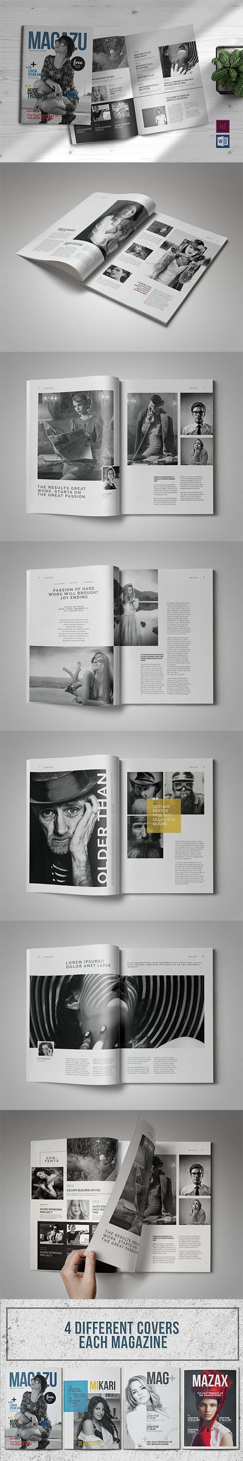 Multi Purpose Magazine Template