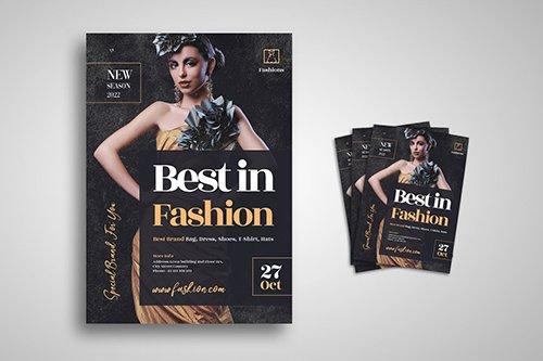 Fashion Flyer PSD