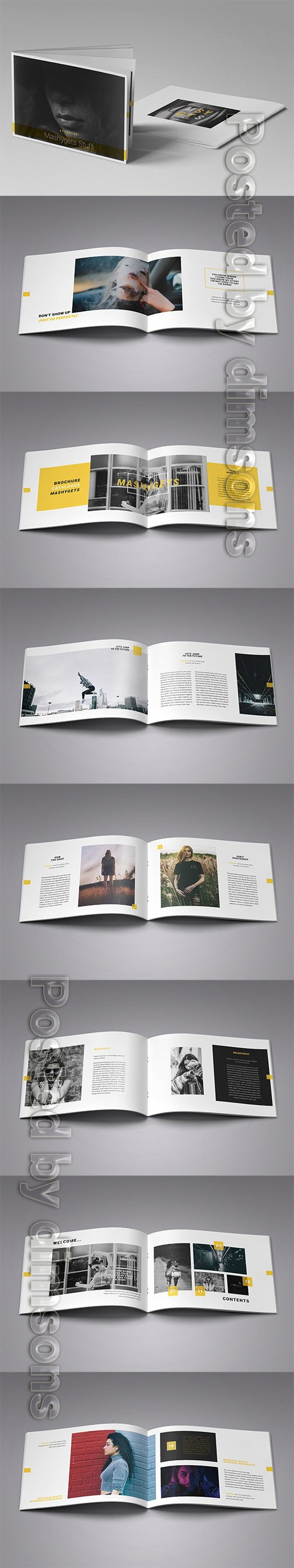 InDesign Brochure Catalogue Template INDD