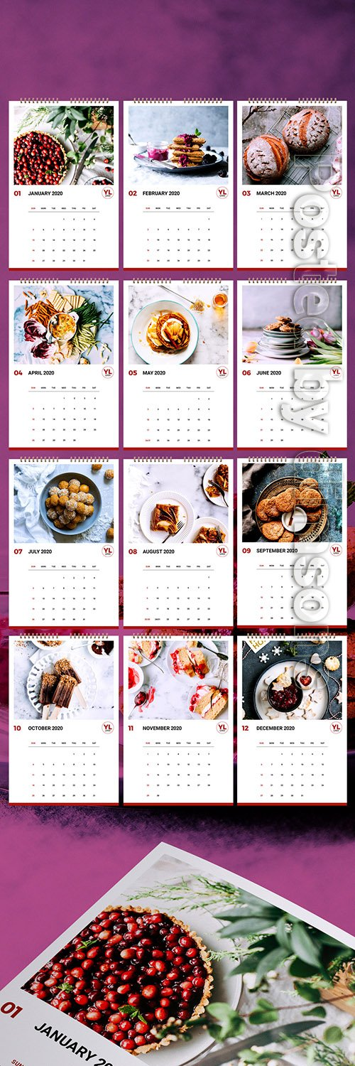 Annual Calendar Layout 307198523 INDT