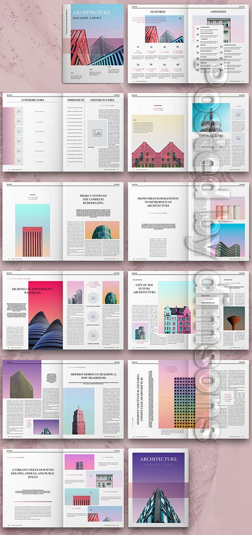 Architecture Magazine Layout 307198400 INDT