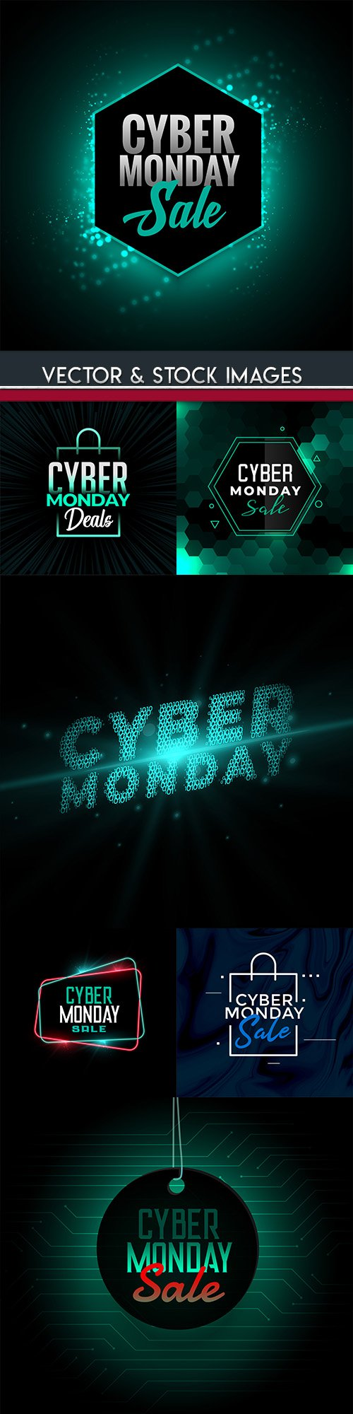 Cyber Monday sale and special offer shopping