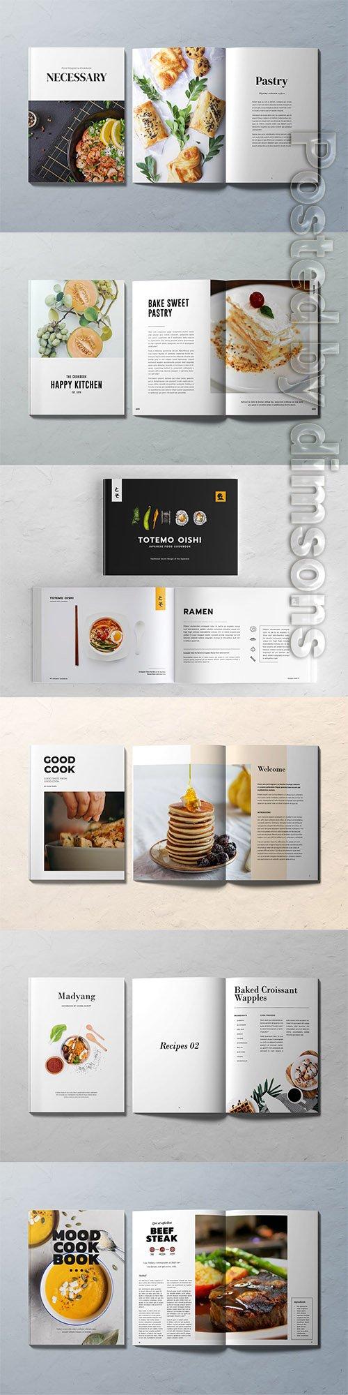 6 Cookbook Templates INDD