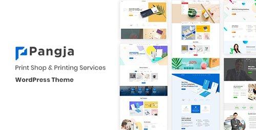 ThemeForest - Pangja v1.1.1 - Print Shop WordPress theme - 23497375