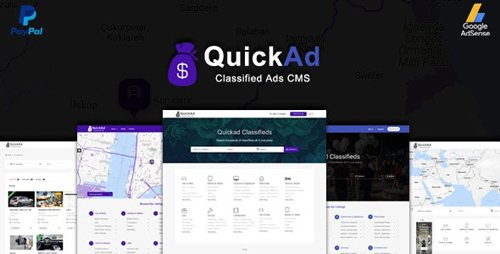CodeCanyon - QuickAd v8.5 - Classified Ads CMS PHP Script - Quickad Classified - 19960675 - NULLED