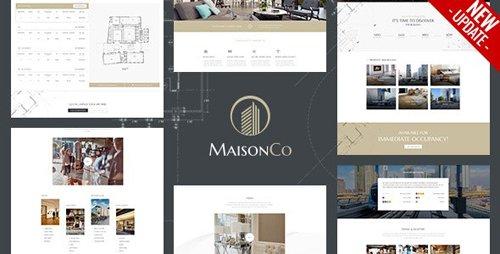 ThemeForest - MaisonCo v1.4.0 - Single Property WordPress Theme - 23087128